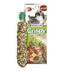 Tyčinky Versele-LAGA Crispy s bylinami pre králiky a činčily 110 g