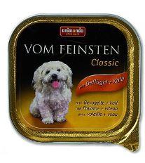 Animonda Vom Feinsten Paštéta - hydina & teľacie pre dospelých psov 150 g
