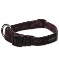 Obojok pre psov nylonový - Rogz Alpinist - fialový - 2 x 34 - 56 cm