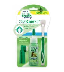 Tropiclean Oral Kit Gél na zuby s kefkami pre psy 59 ml
