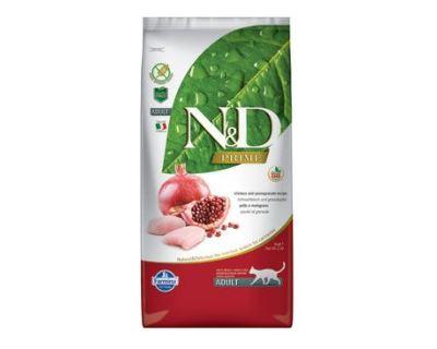 N&D Grain Free Cat Adult Chicken & Pomegranate - kuracie & granátové jablko bezobilné pre dospelé mačky 1,5 kg