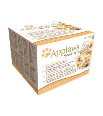 Konzervy APPLAWS Cat Chicken Selection multipack 12 x 70 g