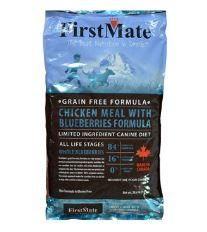 First Mate Dog Chicken& Blueberry