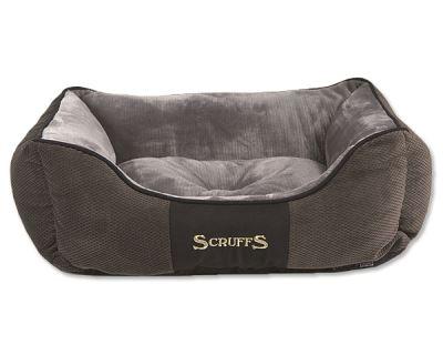 Scruffs Chester Box Bed Pelech sivý - veľkosť S, 50x40 cm