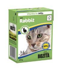 Bozita Cat kousky v želé s králičím masem TP 370g