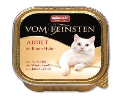 Animonda Vom Feinsten Adult Paštéta - hovädzie & kuracie pre dospelé mačky 100 g