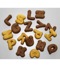 ALPHABET MIX - směs sušenek abeceda 1 kg DOPRODEJ