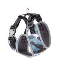 Ferplast Postroj NIKITA Fashion XS šedo-modrý
