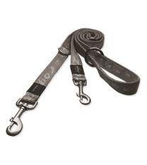Vodítko ROGZ Alpinist prepínacie strieborné XL