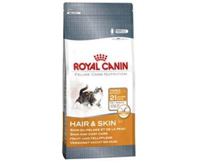 Royal Canin Feline Hair Skin - pre dospelé mačky pre zdravú srsť a kožu 4 kg