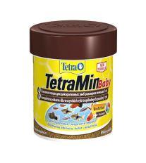 Tetra Min Baby práškové krmivo pre poter 66 ml