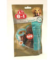 8in1 Fillets pre breath pochúťka pre svieži dych - veľkosť S 80 g