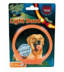 Obojok blikajúci Light Band Oranžový XS 25cm TR 1ks