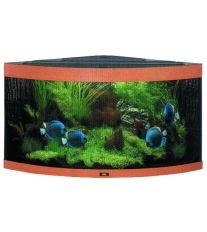 Juwel Trigon 350 akvárium set rohový buk 123x87x65 cm, objem 350 l
