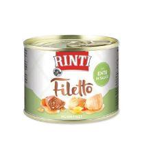 Rinti Dog Filetto konzerva kuře+kachna ve šťávě