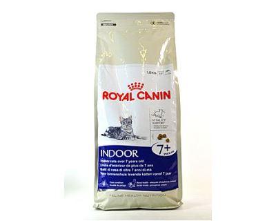 Royal Canin Feline Indoor 7+ - pre dospelé mačky nad 7 rokov žijúce v byte 1,5 kg