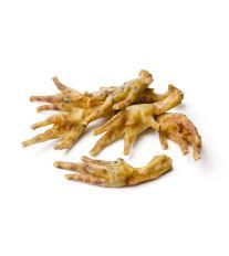 Hydinové pazúry - sušené maškrty pre psa Labet