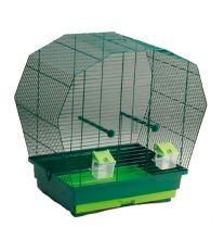 Klietka BIRD JEWEL K6 tmavo zelená 57,5 x 33,5 x 55 cm