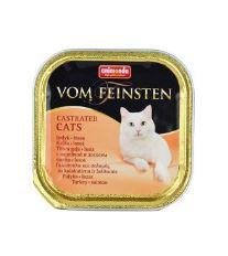 Animonda Vom Feinstein Castrate paštéta - morka & losos pre kastrované mačky 100 g