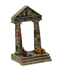 Dekorace AQUA EXCELLENT Zřícenina chrámu 9,5 cm 1ks
