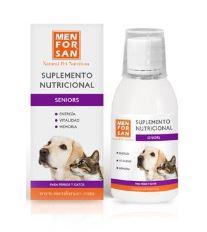 Menforsan Seniors - Pro seniory - Tekutý doplněk stravy pro psy a kočky 120 ml