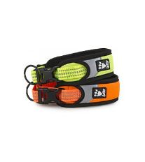 Obojek Hurtta Lifeguard Dazzle 55-65cm oranžový