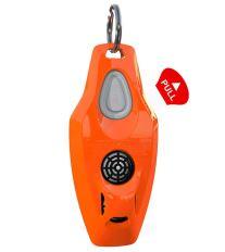 ZeroBugs Plus, ultrazvukový odpuzovač klíšťat a blech pro lidi - oranžový