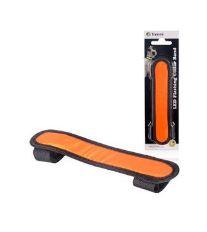Potah LED na obojek 15cm oranžový
