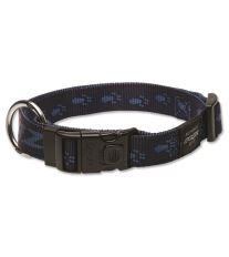 Obojek pre psa nylonový - Rogz Alpinist - modrý - 2,5 x 43 - 70 cm