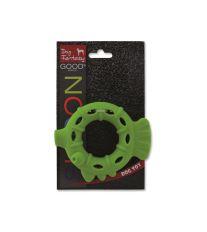 Dog Fantasy silikonový kroužek světle zelený 10 cm