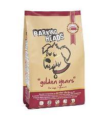 Barking Heads Golden Years - kura & pstruh pre psov od 7 rokov