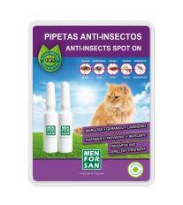 Menforsan Antiparazitný pipeta proti blchám a kliešťom pre mačky - 2x 1,5 ml