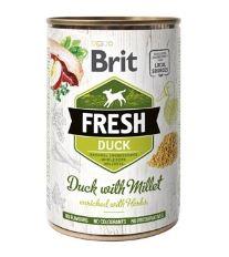 Konzerva BRIT Fresh Duck with Millet 400g