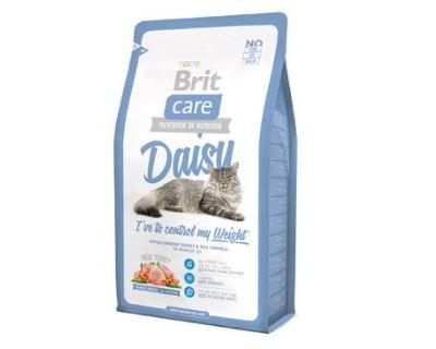 Brit Cat Daisy I`ve to control my Weight - moriak & ryža pre mačky s nadváhou 2 kg