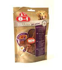 8in1 Fillets pre active pochúťka pre zdravé kĺby - veľkosť S 80 g