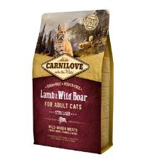 Carnilove Cat Lamb & Wild Boar Adult Sterilised