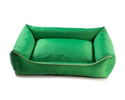 Pelech pre psa Argi obdĺžnikový - odnímateľný povlak z polyesteru - zelený - 70 x 55 cm