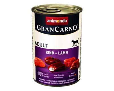 Animonda Gran Carno Adult Konzerva - hovädzie & jahňacie pre psov