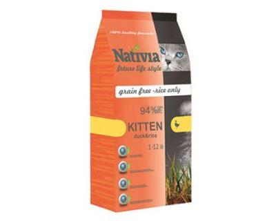 Nativite Cat Kitten - pre mačiatka do 12 mesiacov a gravidné a dojčiace mačky
