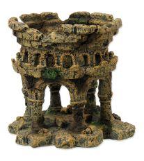Dekorace AQUA EXCELLENT Zřícenina hradu 12,5 cm 1ks