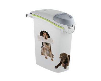 Curver Kontajner na suché krmivo so vzorom psa