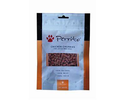 Perrito Chicken Chunkies - kuracie maškrtu pre mačky a malých psov 100 g