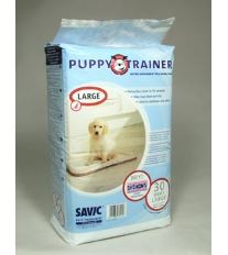 Savic Náhradné podložky Puppy trainer L, 60 x 45 cm 30 ks