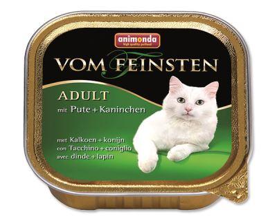 Animonda Vom Feinsten Paštéta - morka & králik pre dospelé mačky 100 g