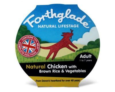 Forthglade Natural Lifestage Adult konzerva pre dospelých psov - kura & ryža & zelenina