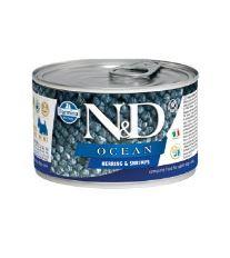 N&D DOG OCEAN Adult Herring & Shrimps Mini 140g