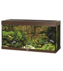 Juwel Rio 300 akvárium set tmavo hnedý 121x51x66 cm, objem 300 l