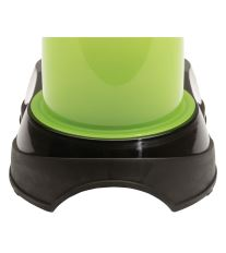Maelson miska na krmivo - černá / zelená - 21 x 35 x 28 cm