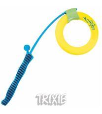 Katapult s plávajúcim kruhom Dog Activity tvrdá guma 48 / 17cm