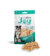Calibra Joy Dog Dental Chicken Waves - vlnky z kuracieho mäsa a ryže pre dentálnu hygienu 80g